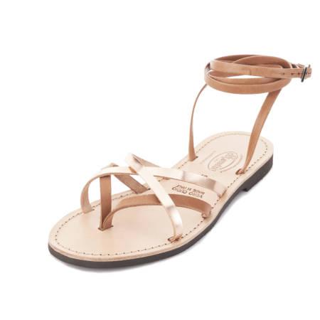 Sandalo alla Schiava da donna in cuoio Gaia